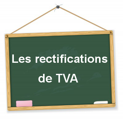 Comptabilisation des rectifications de TVA