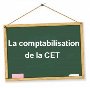 comptabilisation de la CET