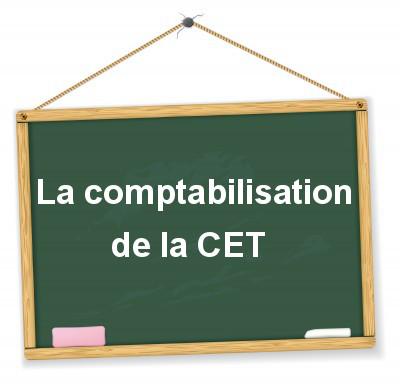 comptabilisation de la CET (CFE et CVAE)