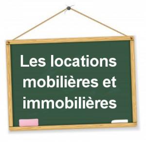 comptabilisation des locations mobilières et immobilières
