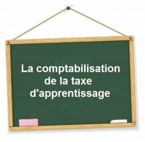 Comptabilisation taxe apprentissage