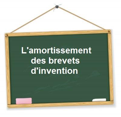 Amortissement brevet invention