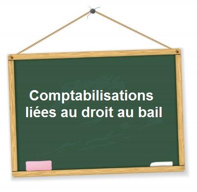 Comptabilisation droit au bail