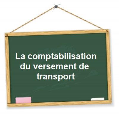 Comptabilisation versement transport
