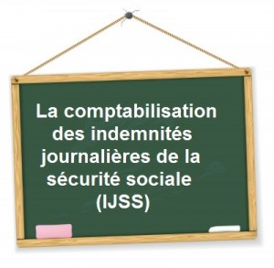 comptabilisation indemnites journalieres maladie