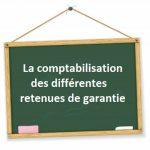 comptabilisation retenue de garantie