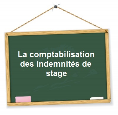 comptabilisation indemnite stage gratification