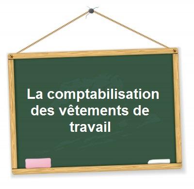 Comptabilisation vetements travail