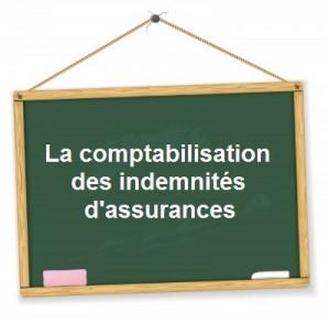 Comptabilisation indemnités assurances