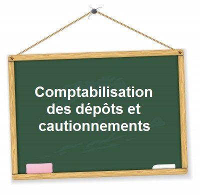 comptabilisation caution depot garantie