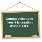 comptabilisation creation eirl
