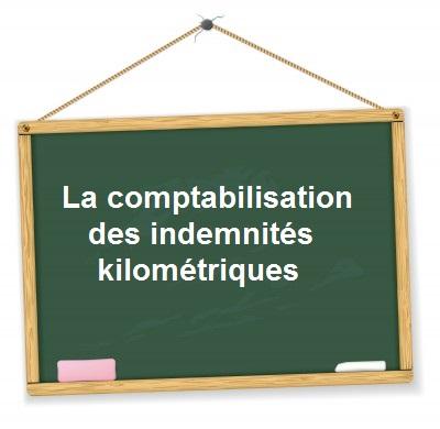 comptabilisation indemnites kilometriques
