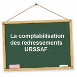 comptabilisation redressements urssaf