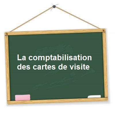 Comptabilisation Cartes De Visite