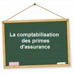 comptabilisation primes assurance