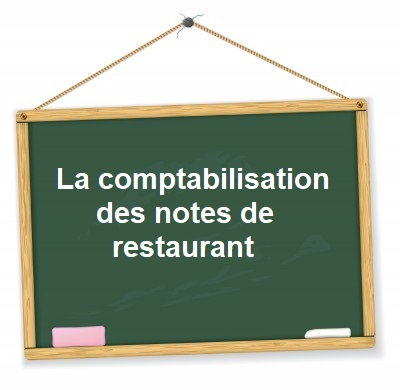 comptabiliser frais de restaurant