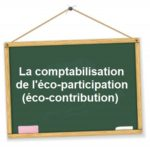 comptabilisation eco contribution eco participation